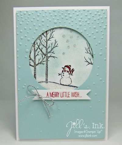 White Christmas MnT Card