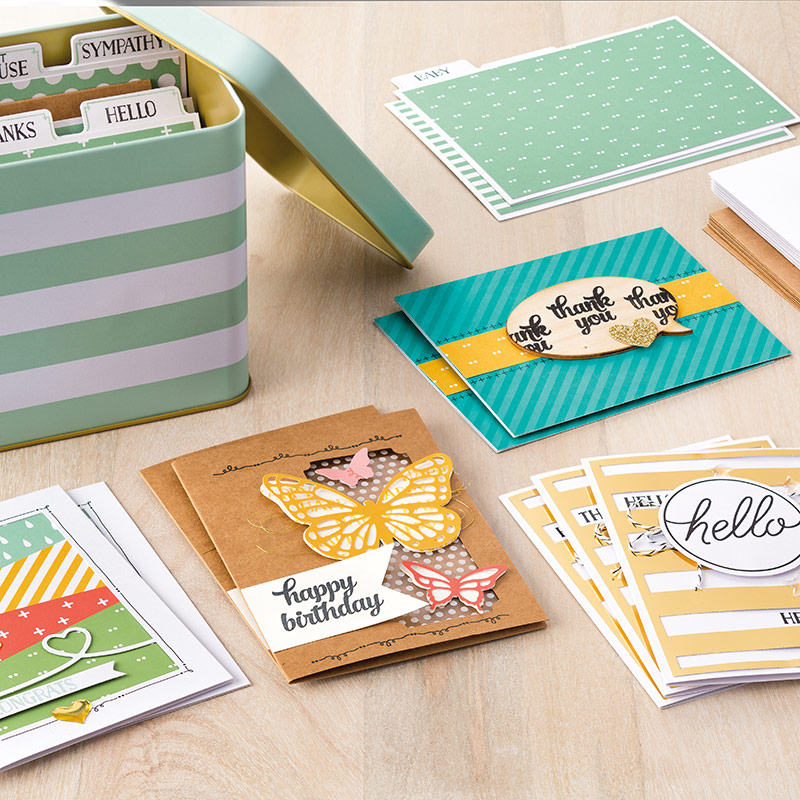 Tin of Cards Kit Image