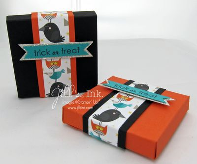 Ghoulish Greetings Punchboard Treat