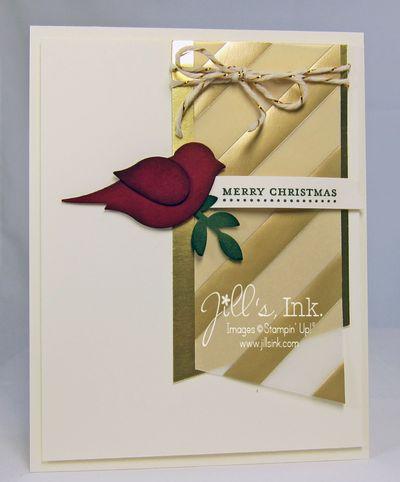 Christmas Bird SAS Card