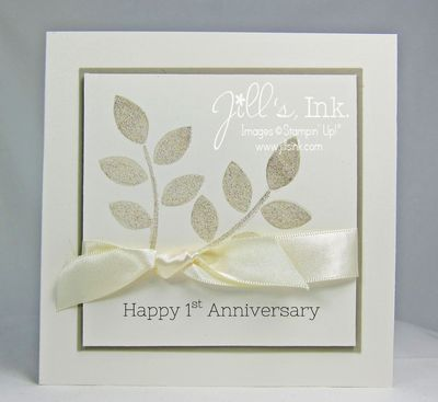 Crazy About You Anniversary Card