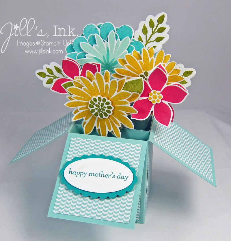 Flower Patch Card in a Box 4