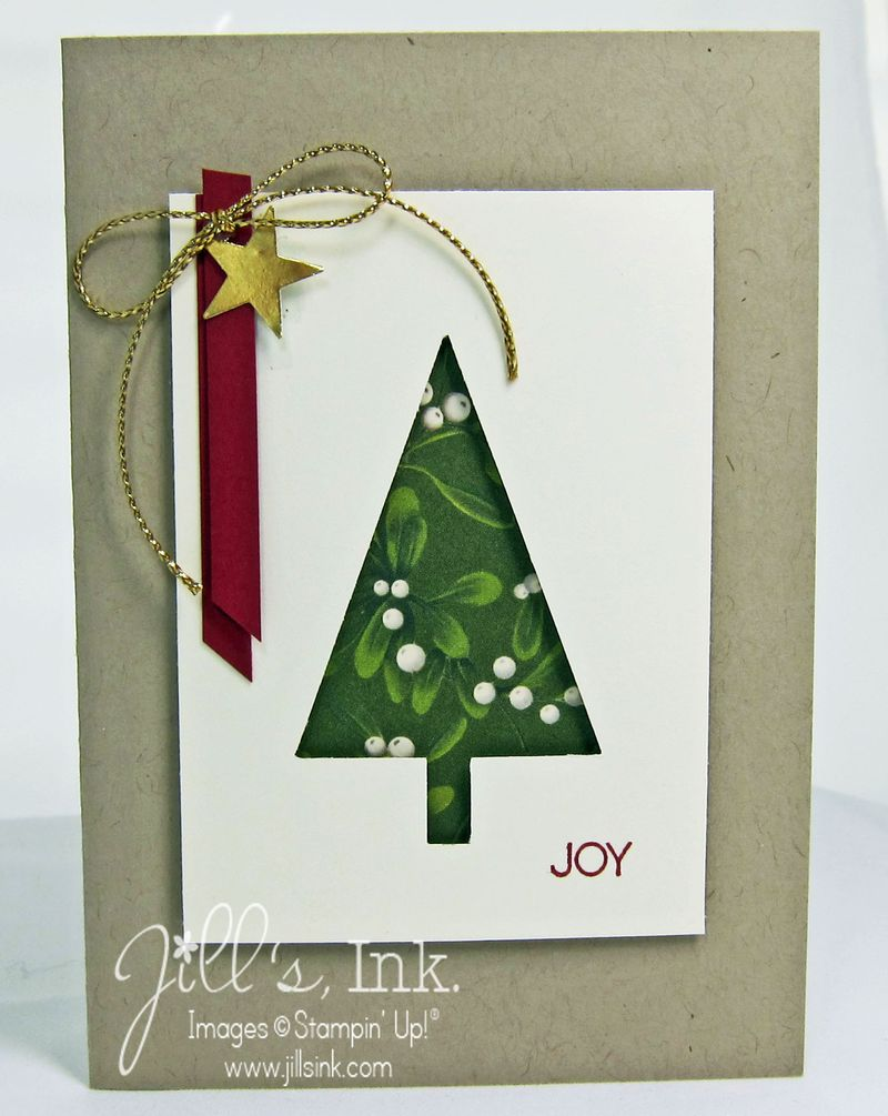 Tree Punch Christmas Card
