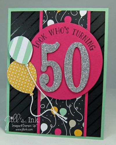 Number of Years 50th Card Sharp