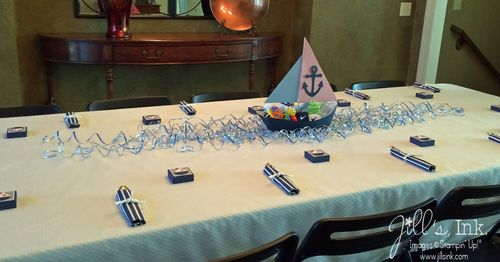 Sailboat Shower Decorations