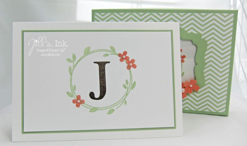 Monogram Notecards & Box 003