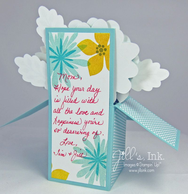 Flower Patch Card in a Box 005