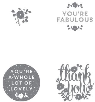 A Whole Lot of Lovely Stamp Set Image