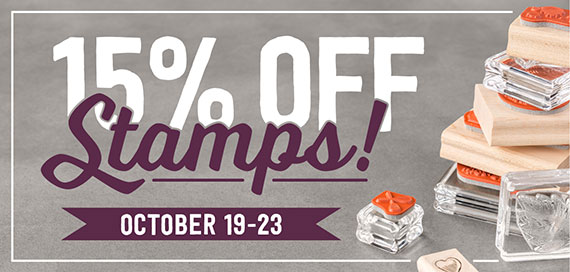 15% off Stamps Lg Image